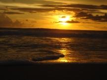 sunset swirl