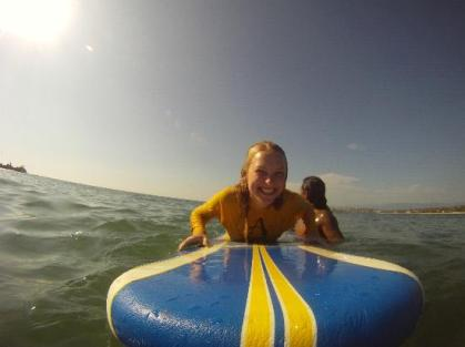 All Smiles - Surf Lesson