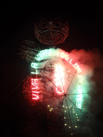 viva la virgen fireworks