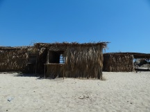 beach shacks