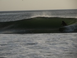 getting into the barrel