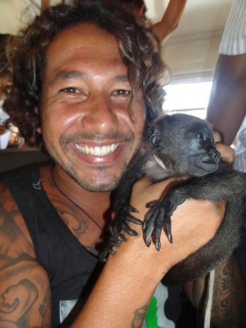 julio and monkey