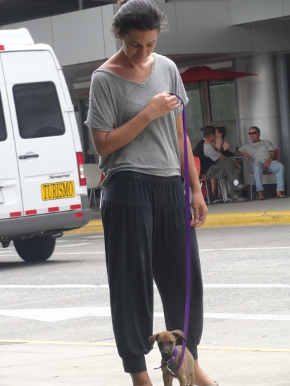 walking at the airport