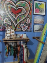 Julio Soto Art at Zicazteca Surf Shop