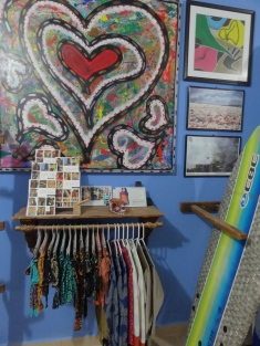 Julio Soto Art at Zicazteca Surf Shop