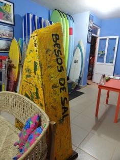 Puerto Fishing Boat at Zicazteca Surf School