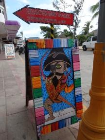 sign Zicazteca Surf School