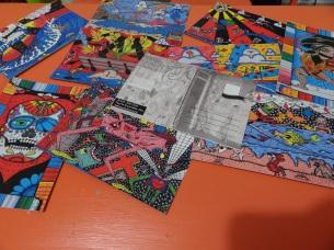 Postcards Julio Soto art