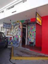 entrance to shop