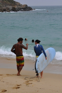 Surf lesson with Julio Soto Puerto Escondido