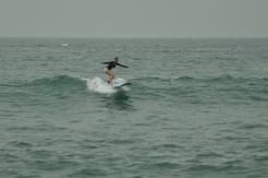 Surf lesson with Julio Soto