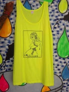 tank by Julio, neon yellow