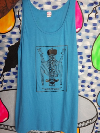 Tank by Julio, neon blue