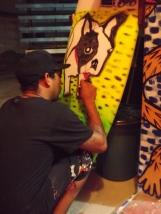 Julio painting board