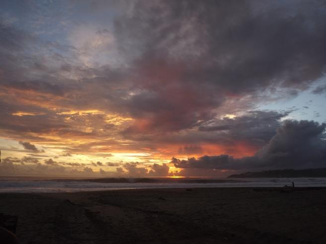 sunset zicatela