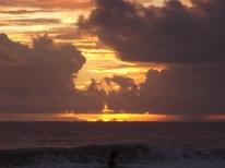 golden sunset zicatela