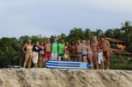 Surf Lesson Group Puerto Escondido