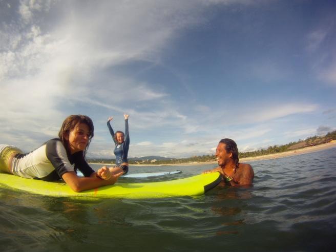 Surf Lesson Puerto Escondido