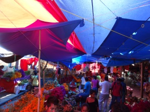 mercado, day of dead