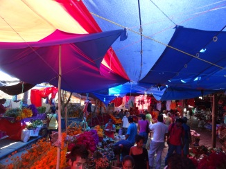 mercado, day of dead
