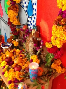 altar de la tienda