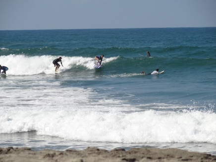 surf lesson puerto escondido surfing