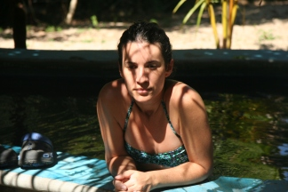 Deeply relaxed at Hot Springs